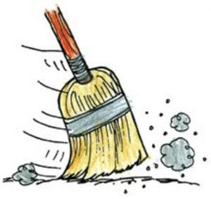 Image result for broom sweep